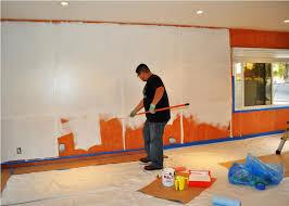 wood paneling painting ideas