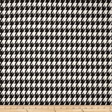 zoom premier prints large houndstooth black