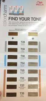 Wella Toner Chart Before And After T28 Wella Color Charm Chart Www Imghulk Com