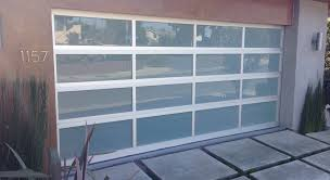 charity of the month a new glass panel garage door
