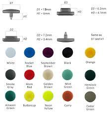 Button Size Chart Plastic Snap Size Chart Grommet Mart