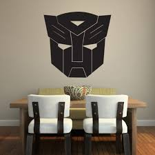 transformers wall sticker autobot wall decal boys bedroom home decor