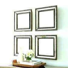 set of 3 small mirrors 3 piece mirror set 3 piece mirror set small decorative wall