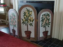 ornate fireplace screens