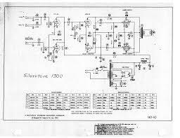 silvertone 1300 sch service manual schematics silvertone 1300 sch service manual
