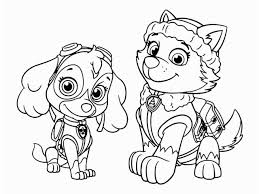 Free Paw Patrol Skye Coloring Pages Paw Patrol Free Coloring Pages