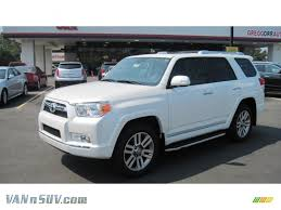 2011 Toyota 4Runner Limited 4x4 in Blizzard White Pearl - 064946 ...