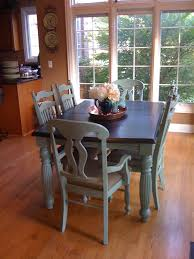 chalk paint kitchen table and chairs awesome awesome chalk paint dining chairs pics