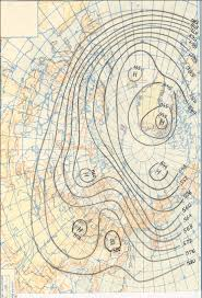 Constant Pressure Chart The Northern Hemisphere At A Height