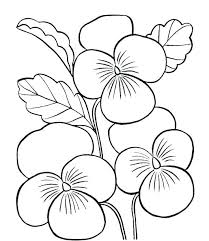 Small Coloring Pages Of Flowers Small Flower Coloring Pages Flower