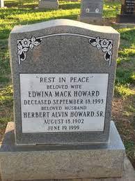 Edwina Mack Howard (1911-1993) - Find A Grave Memorial