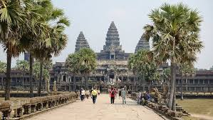 cambodia s sprawling temple complex angkor wat has been revealed as the world s best rated landmark