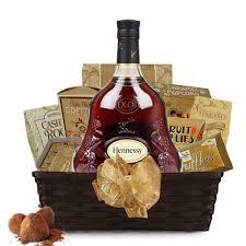 hennessy xo cognac gift basket