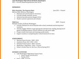 Example Resume For College Students Examples And Simple Student ...