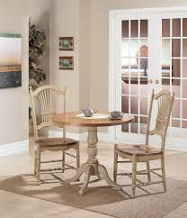 48 round extension pedestal table