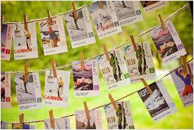11 creative rustic wedding place card ideas vermont weddings Rustic Wedding Place Card Ideas wedding place card idea skiing rustic wedding place card holders