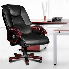 Office reclining chair Comfortable Crazy Sales Reclining Leather Office Chair Crazy Sales