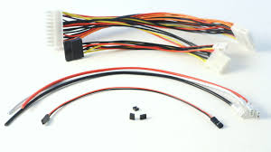 m2 atx 160w intelligent dc dc car pc power supply cable harness