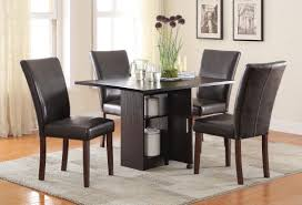 Black Leather Dining Room Chairs Furniture Black Metal Dining Room Chairs With Casters Combined By