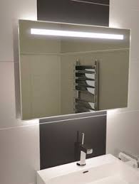Bathroom Mirror With Battery Powered Led Lights