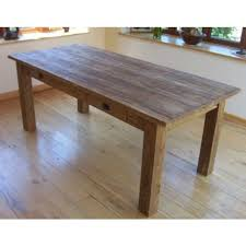 teak dining tables uk. rustic oak beam bevelled edge dining table | simply . teak tables uk
