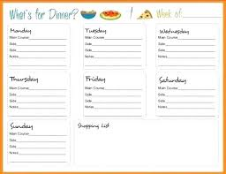 Plain Menu Templates Blank Dinner Template Free For Word