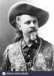 BUFFALO BILL - William Cody - (1846-1917) American soldier and showman  Stock Photo - Alamy