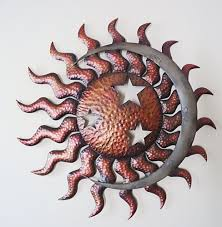 celestial sun moon stars wall art metal indoor outdoor design of metal star outdoor