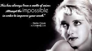 Acting Quotes Cool WALLPAPER Bette Davis Acting Quote With Photo ActorSpeak