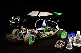 the scale model of the eindhoven student team that drives on formic acid credit bart van overbeeke