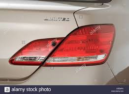 2006 Toyota Avalon Limited in Beige - Tail light Stock Photo ...