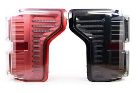Morimoto Light Bar Morimoto Xb Led Plug Play Tail Light Assemblies Compatible With 2015 2018 Ford F 150 Red