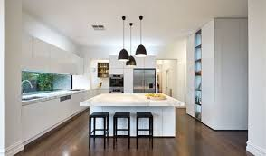 Kitchen lighting with a marvelous view of beautiful kitchen interior design  to add beauty to your home 15