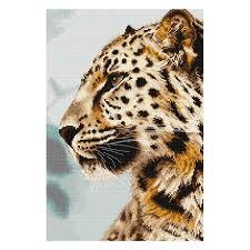 """<b>Набор для вышивания</b> """"<b>Luca-S</b>"""" BU4006 """"Леопард"""" . купить за ..."""