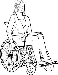 Woman Wheelchair Disabled - Free vector graphic on Pixabay
