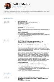 technical analyst cv rnei technical analyst resume