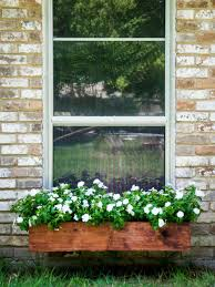 Diy Window Boxes Do It Yourself Wine Crate Window Boxes Hgtv