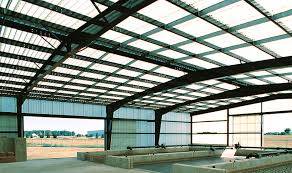 image of clear corrugated fiberglass roofing panels