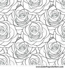 Free Coloring Pages Flowers And Butterflies V2016 Cute Flower