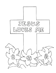 Cross Color Page Printable Cross Coloring Pages Cross Color Pages