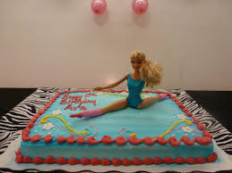 We Couldnt Find A Gymnastics Cake So We Bought A Cake At Walmart