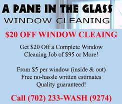 las vegas window cleaning a pane in the glass las vegas henderson summerlin