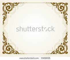 antique picture frames vector. Antique Frame In Vintage Style Picture Frames Vector