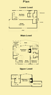 Cottage Home Designs  Story House Plans  amp  Narrow Lot Floor PlansFloor Plans   click to enlarge and view measurements