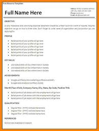 Quick Resume Template Adorable Quick Resume Template Free Fast Resume Builder On Free Resume