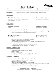 Sample Education Resume Resume Templates Brilliant Ideas Of Bilingualer Examples Perfect 93