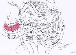 Wind Patterns Map