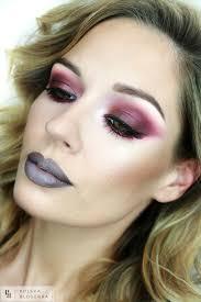 red sparks makeup video on you maja adamiak