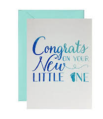 Congratulations On Your New Baby Card Amazon Com Congratulations On Your New Little One Adoption