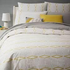 anic diamond stripe duvet cover shams west elm